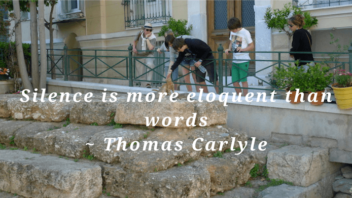 Silence is more eloquent than words.  Thomas Carlyle silence quote