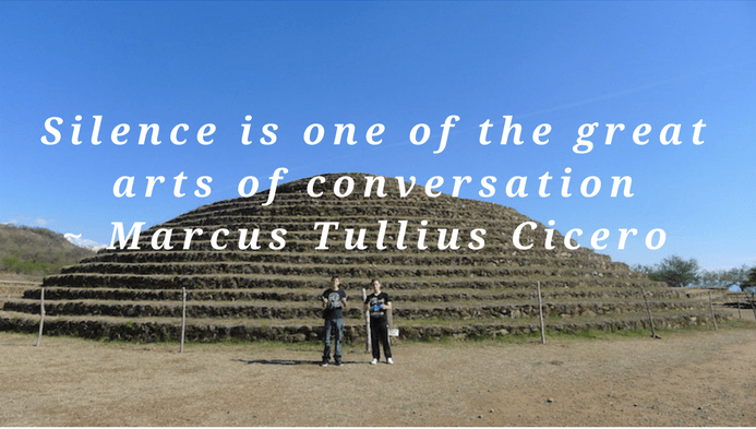 Silence is one of the great arts of conversation  Marcus Tullius Cicero silence quote