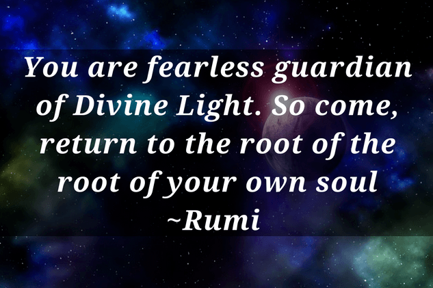 You are fearless guardian quote on self worth by Rumi - Self worth quotes