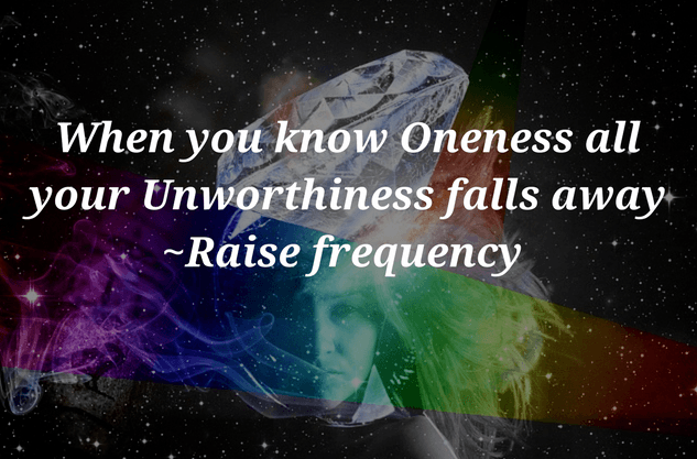 Your Unworthiness falls away quote on Self worth - Quotes on Self worth