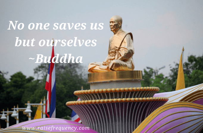 No one saves us but ourselves quote by Buddha - Empowering quotes