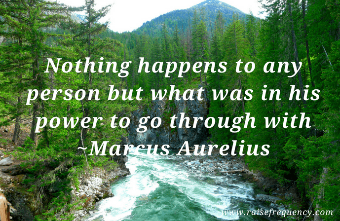 Nothing happens quote by Marcus Aurelius - Empowering quotes