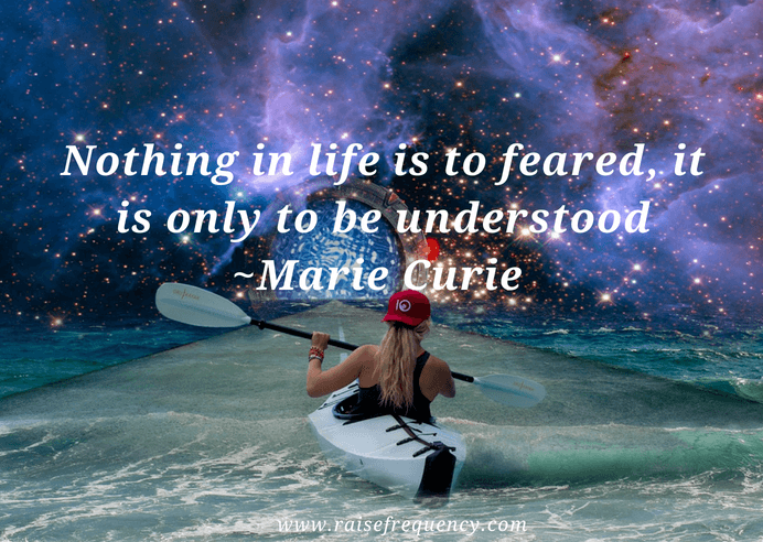 Nothing in life is to feared quote by Marie Curie - Empowering quotes for women