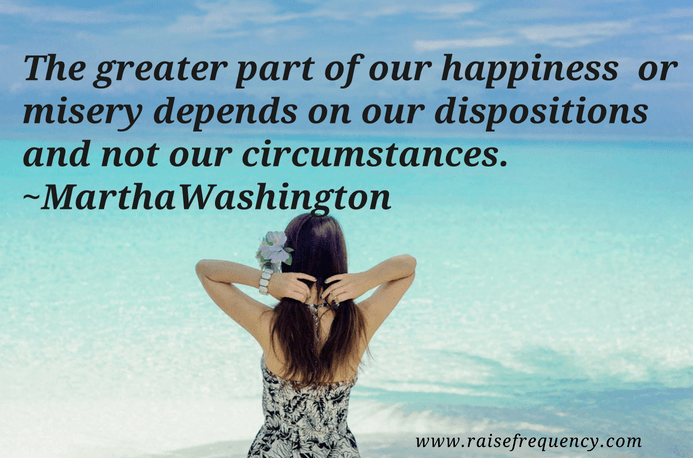 The greater part of our happiness quote by Martha Washington - Empowering quotes for women