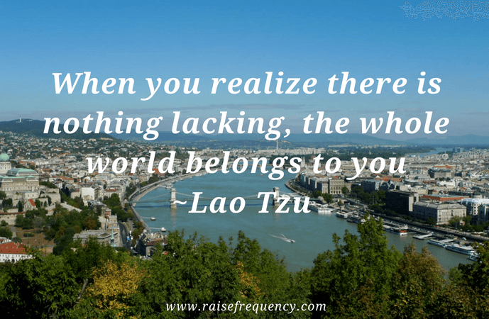 When you realize quote by Lao Tzu - Empowering quotes