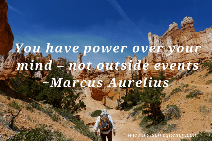 You have power quote by Marcus Aurelius - Empowering quotes